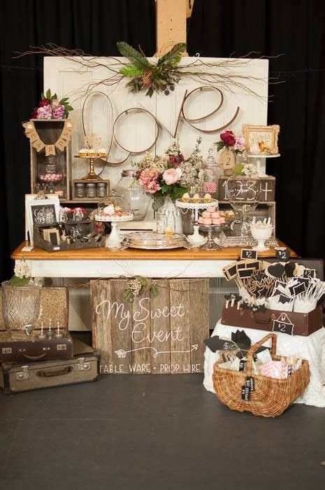 rustic shabby chic wedding reception ideas 17 best images about bespoke booths on bridal show wedding and gold cake stand