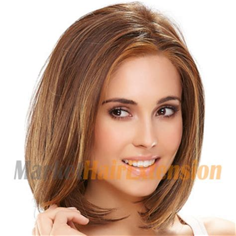 Wig Hair Extension Strike Highlight Hair 12 quot human hair lace front wig brown highlight big discounts up to 82