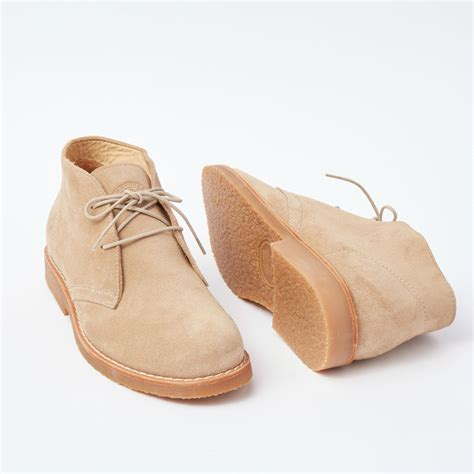mens chukka boot suede roots