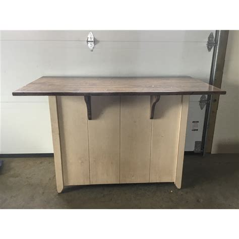 Kitchen Island Counter Height Primitive Kitchen Island In Counter Height Set 2 Sizes Available