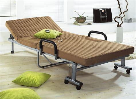 g 228 stebett hellbraun zusammen klappbar bett mit matratze - Gästebett