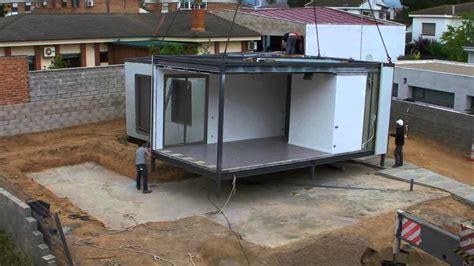 modulos casas prefabricadas casa prefabricada modular en tarragona youtube
