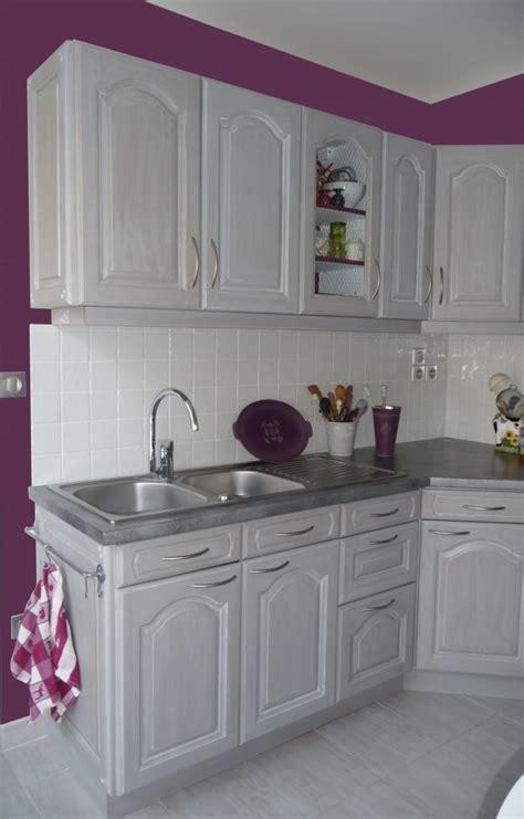 Impressionnant Deco Mur De Cuisine #1: Cuisine-Sonia-mur-Aubergine-658x1030.jpg
