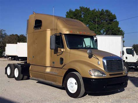 freightliner used trucks 2010 freightliner columbia sleeper semi truck ta fl