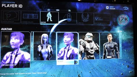 cortana show me your avatar halo the master chief collection ot halo never died it