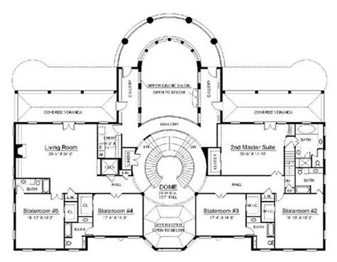 historical house plans vintage mansion floor plans historic house floor plans