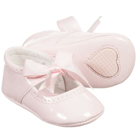 Prewalker Baby Shoes Sneaker Pink mayoral newborn baby pink patent pre walker shoes childrensalon