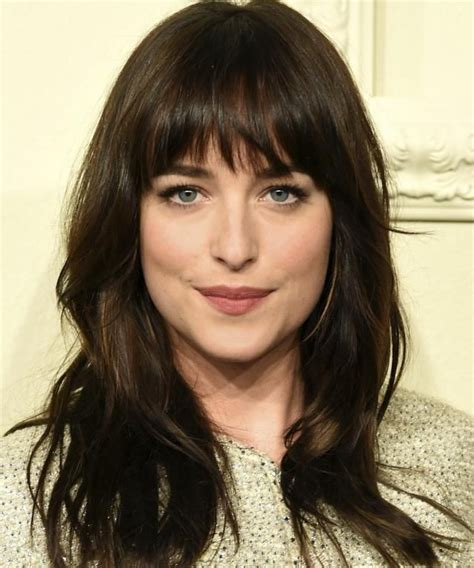 how to cut bangs like dakota johnson which spring 2015 haircut should you get dakota johnson