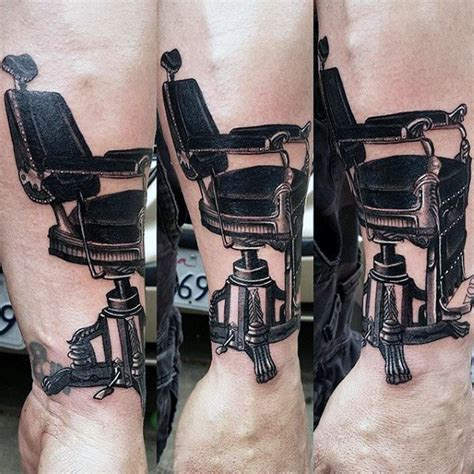 wheelchair tattoo designs 100 barber tattoos for masculine design ideas