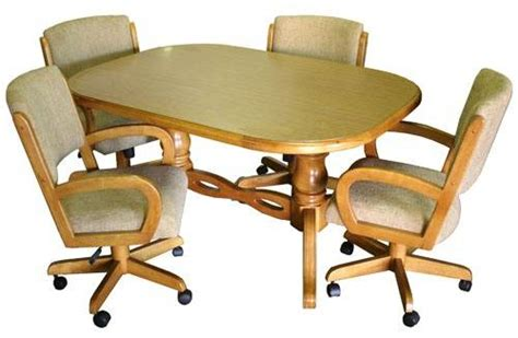 kitchen table chairs with casters kitchen chairs with casters the interior design