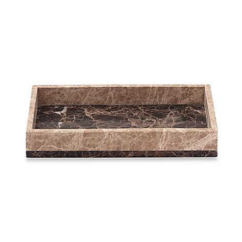 marble bathroom tray montecito marble towel tray bed bath beyond
