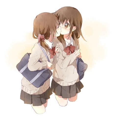 girl yuri anime love couples namori on tumblr