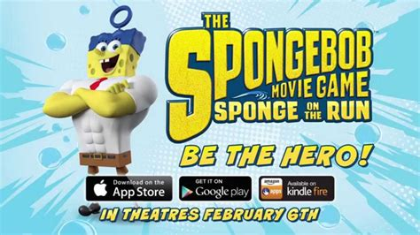 On The Run spongebob sponge on the run official trailer