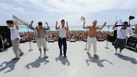 rock the boat nkotb cruise new kids on the block invite gronk to come on our cruise