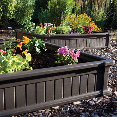 4x4 Garden by Lifetime 4 X 4 Raised Garden Bed Brown Walmart