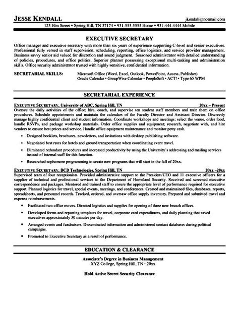 Executive Resume Writers by Professional Executive Resume Writers Free Sles