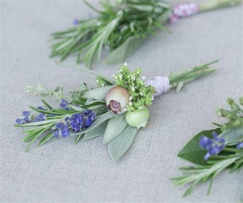 Handmade Corsage - inspiration boutonniere mariage j ai dit oui