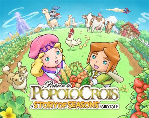 Kaset 3ds Return To Popolocrois A Story Of Seasons Fairytale return to popolocrois a story of seasons fairytale llegar 225 a las 3ds de norteam 233 rica en