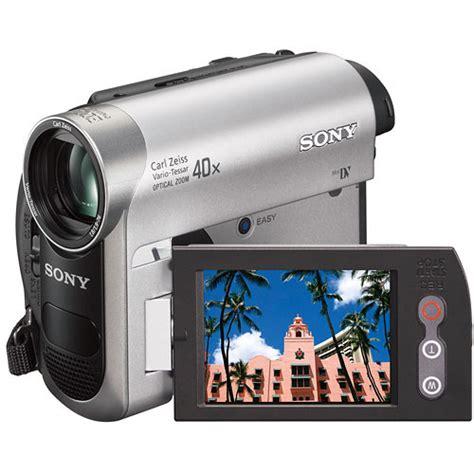 cassette videocamera sony dcr hc52 minidv handycam camcorder dcrhc52 1 b h photo