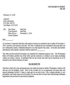 settlement demand letter template 36 demand letter sles