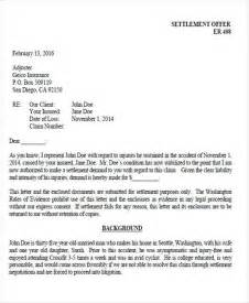 Insurance Settlement Letter Demand 36 Demand Letter Sles