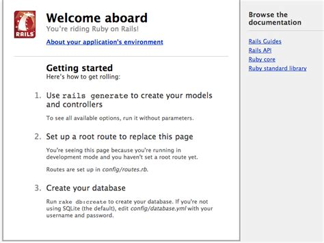 welcome on board email template getting started with rails ruby on rails guides