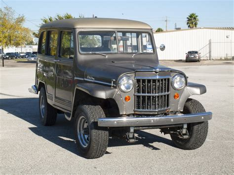 1954 willys jeep 1954 willys jeep station utility wagon gets the spotlight
