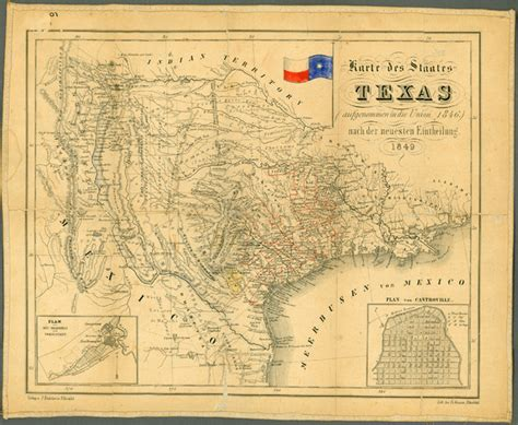 historical texas maps 1849 texas historical map texas mappery
