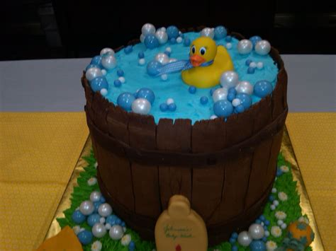 Duck Rubber Ducky Baby Shower Cakes by Rubber Ducky Baby Shower Cake