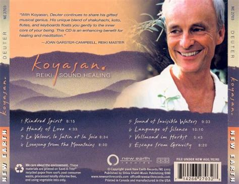 koyasan reiki sound healing deuter songs reviews