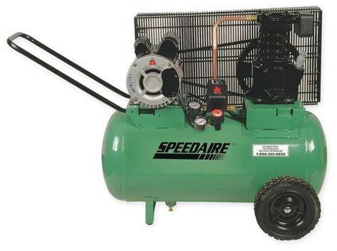 speedaire 1nnf4 air compressor 2 0 hp 120 240v 135 psi ebay