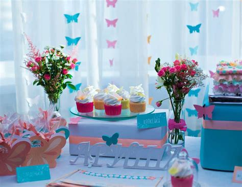 butterfly themed birthday party butterflies themed birthday party home party ideas