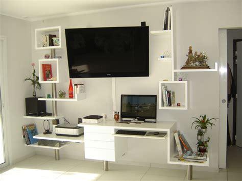 meuble tv avec bureau meuble t 233 l 233 vision bureau