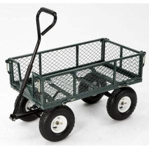 farm ranch 400 lb steel utility cart fr110 2 the home