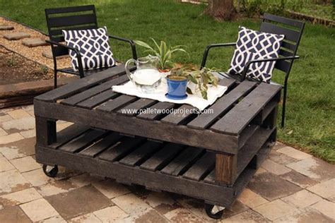 Pallet Patio Table Modern Coffee Tables Made From Wooden Pallet Pallet Wood Projects