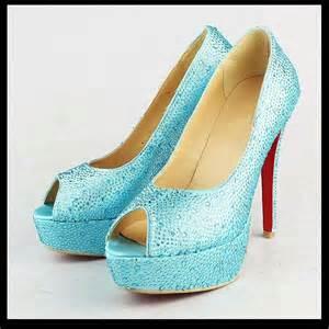 light blue shoes light blue high heel shoes fashionate trends