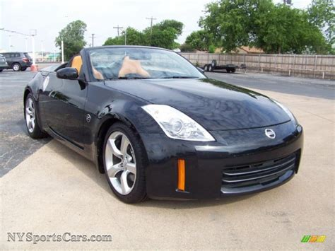 2008 nissan 350z touring 2008 nissan 350z touring roadster in magnetic black photo