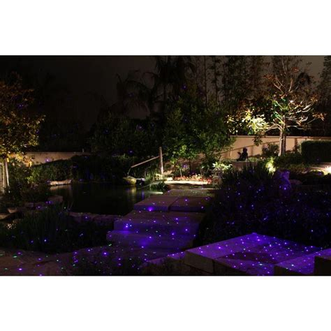 Firefly Landscape Lighting Blisslights Spright Bwt 16 In Blue Laser Landscape Projector Firefly Landscape Light Pppb Avi