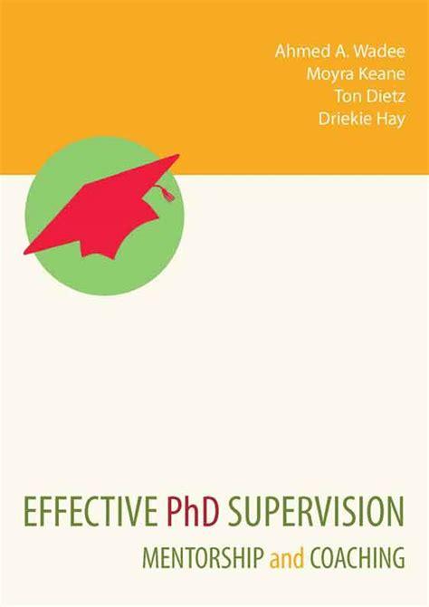 thesis advisor or supervisor phd thesis advisor supervisor