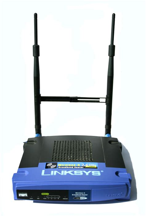 router wikipedie file wrt54g linksys router with 7 dbi antennas digon3 jpg