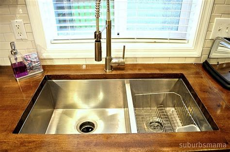 undermount sink butcher block butcher block with undermount sink for the home