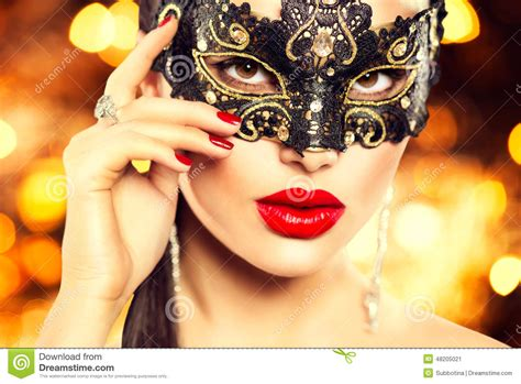 Masker Glowing carnival pictures