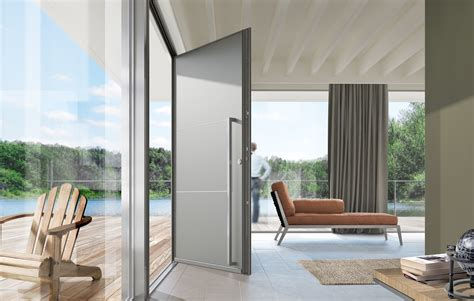 portes d entree alu portes d entr 233 e aluminium cosy swao