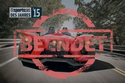 Auto Bild Sportscars Wahl 2015 sportscars des jahres 2015 wahl autobild de