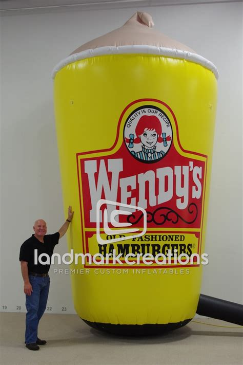 giant drink giant inflatable drink cup for shipley do nuts