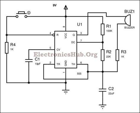 panic alarm circuit diagram all