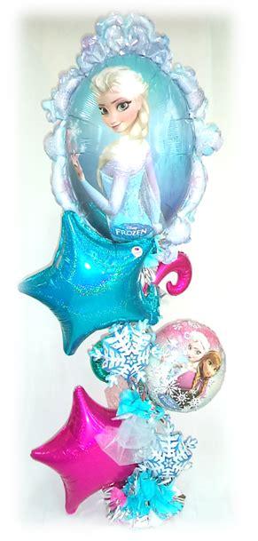 arreglos de mesa de globos de frozen arreglo de globos frozen para las princesas del hogar