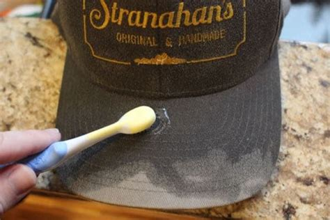 the best way to clean a baseball cap the of manliness