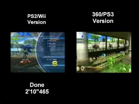 wii vs ps2 which has sonic unleashed wii ps2 vs 360 ps3 adabat day real