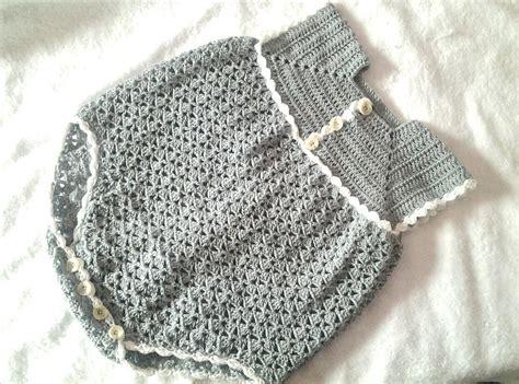 paso a paso pelele enterizo o jardinero a crochet parte 2 tutorial